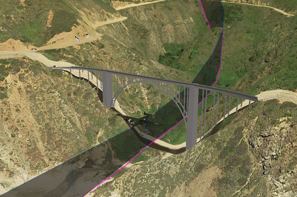 Bixby Bridge Manoeuvre Pic 1