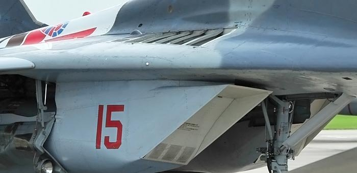 MiG-29 intake